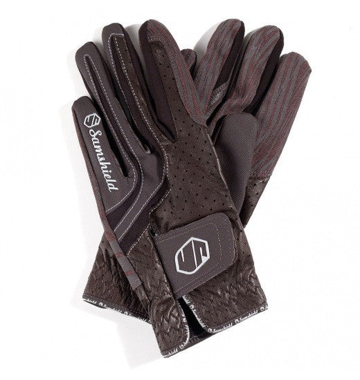 Brown Samshield V-Skin Gloves