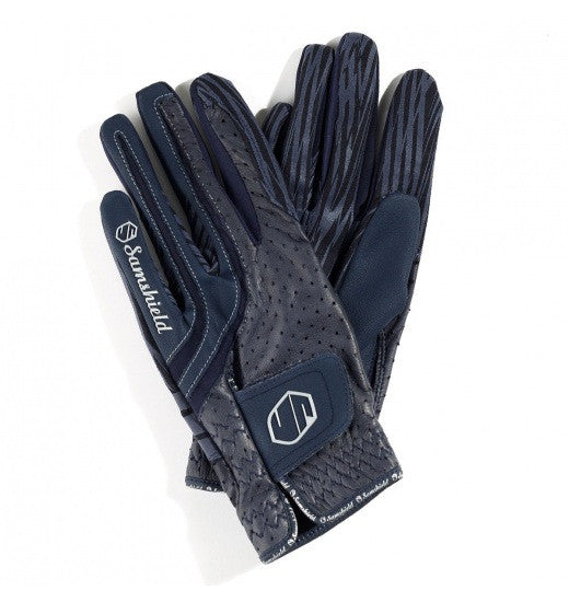 Navy Blue Samshield V-Skin Gloves