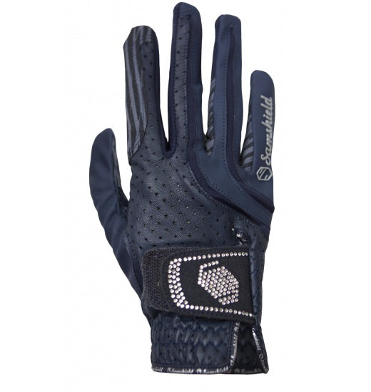 V2-Skin Swarovski Crystal Gloves