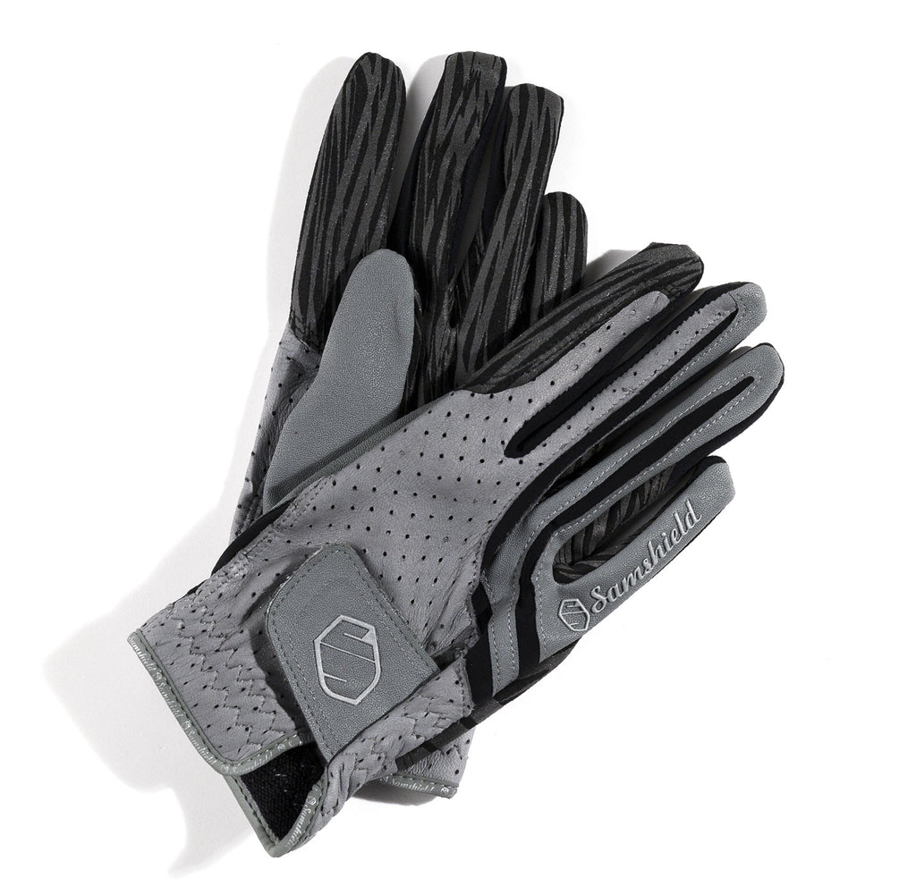 Grey Samshield V-Skin Gloves