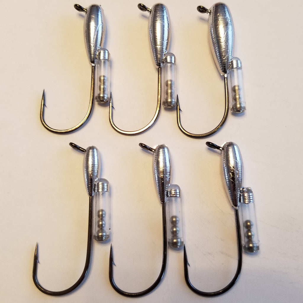 Custom Rattle Tube Jigs!