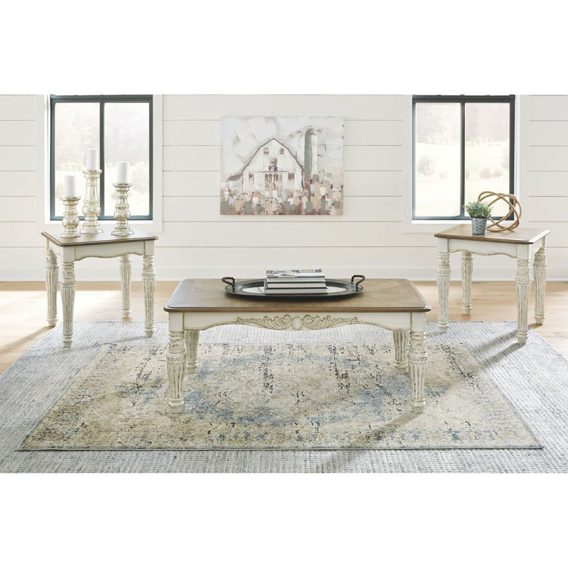 Realyn Occasional Table Set (set of 3)