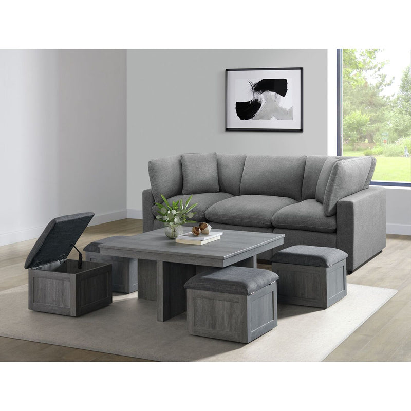 Uster Coffee Table + 4 Stools
