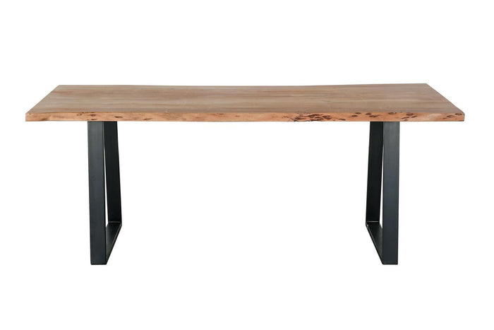 Acacia Iron Wood Table
