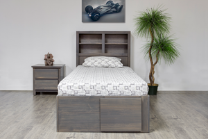 Autumn Twin Bed w/bookcase HB