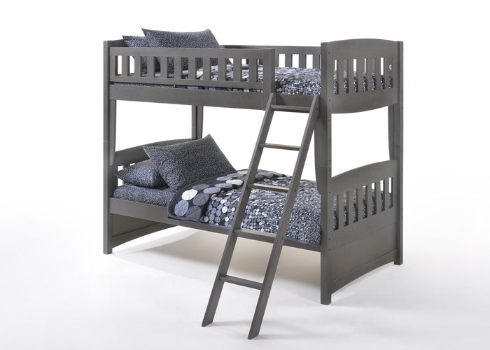 Cinnamon Twin over Twin Bunkbed