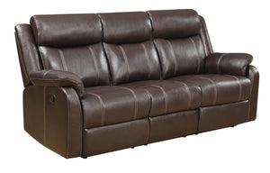 Domino Reclining Sofa With Table