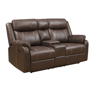 Domino Reclining Loveseat