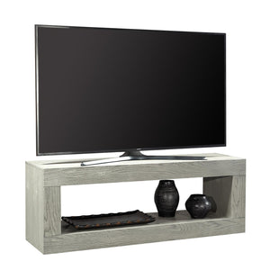 "Nova Oak Heather Gray 60"" Open Console"
