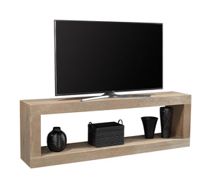 "Nova Oak English Taupe 74"" Open Console"