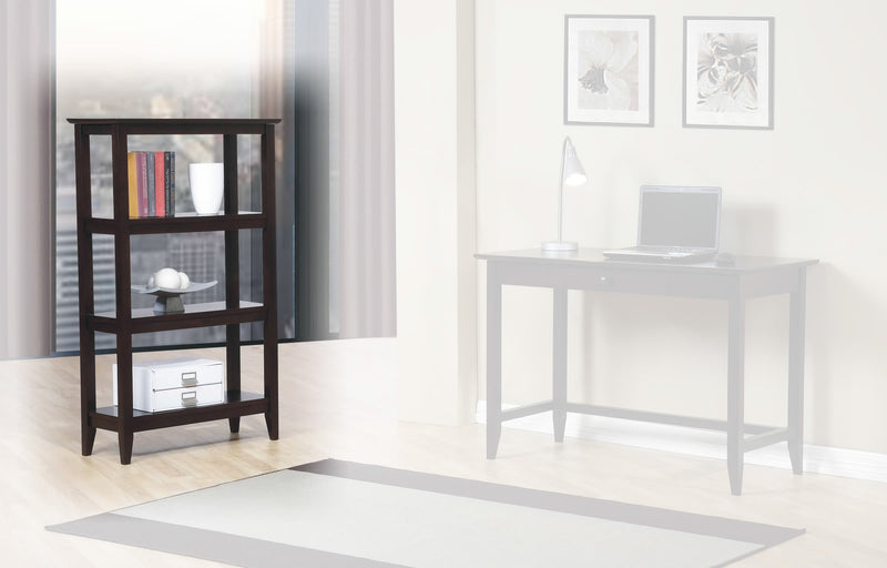 Quadra High Bookcase