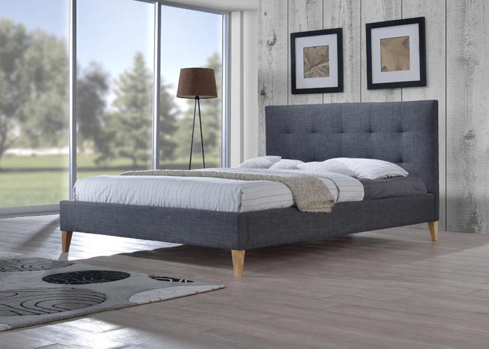 Sage Fabric Bed