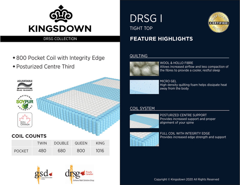 Kingsdown DRSG I