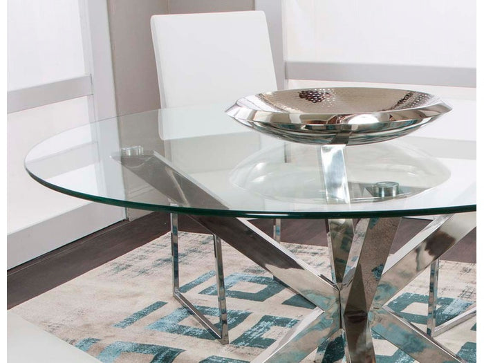ND069 Round Glass Table