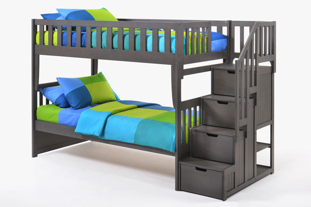 Peppermint Stair Bunkbed