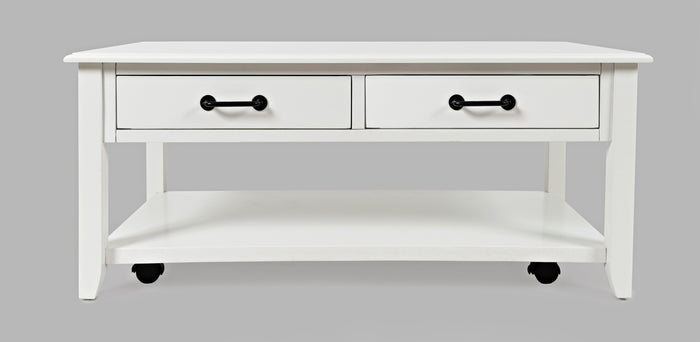 North Fork 2 Drawer Castered Coffee Table