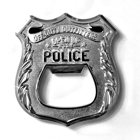 """OPEN UP it's the POLICE"" Coin Opener"