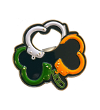 """Irish Handcuffs"" Challenge Coin and Opener"