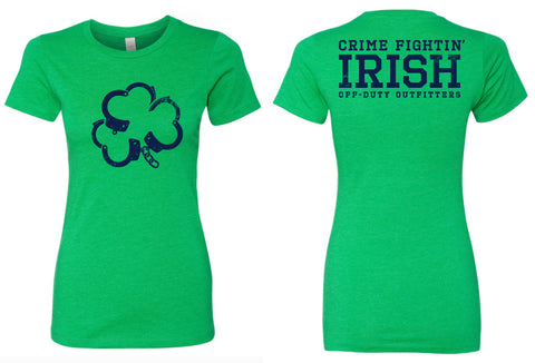 """Crime Fightin' Irish"" Tee"