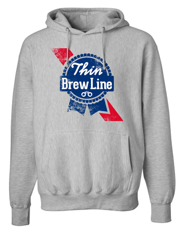 "Thin ""Brew"" Line Hoodie"