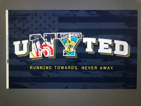uNYted 3x5 Tailgate Flag