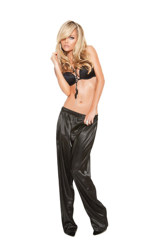 HotSpotLingerie.com Plus Size Charmeuse Satin Unisex Pants