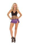 HotSpotLingerie.com Pleated Side Zip Mini Skirt