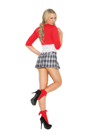 Plus Size Sexy School Girl Costume