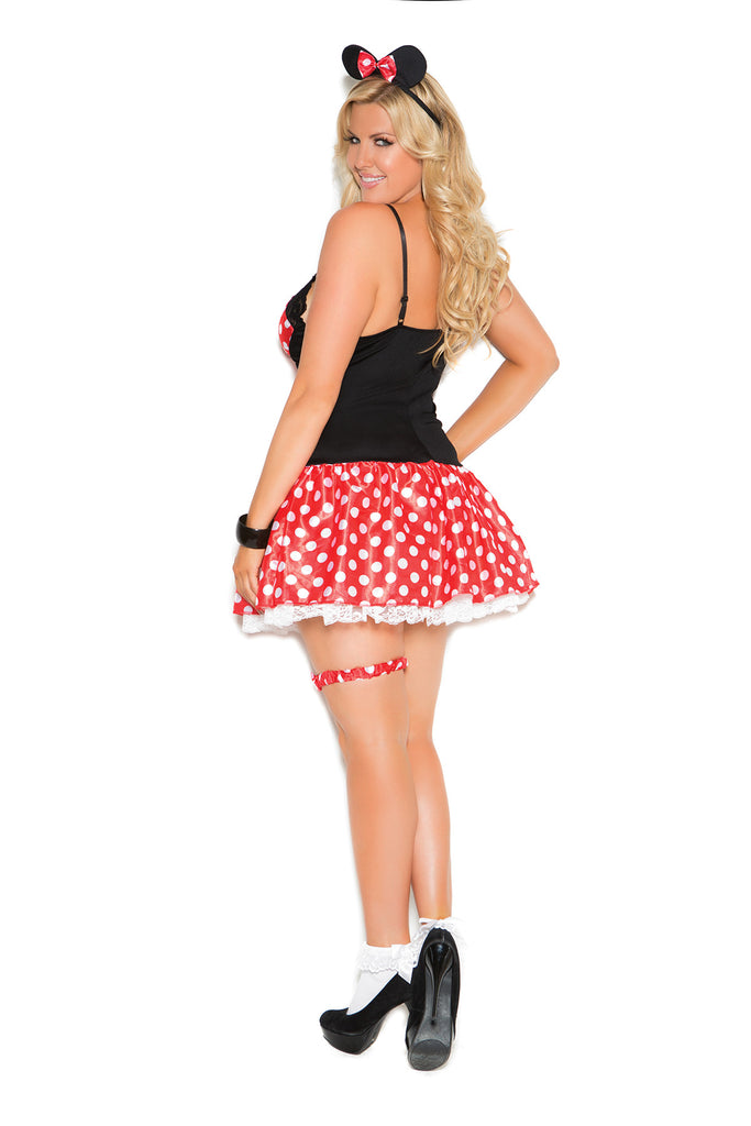 Plus Size Sexy Mouse Costume