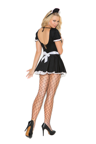 Plus Size Sexy French Maid Costume
