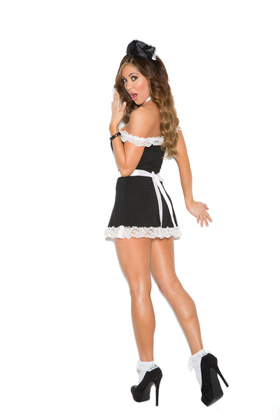 Plus Size Sexy Maid Costume