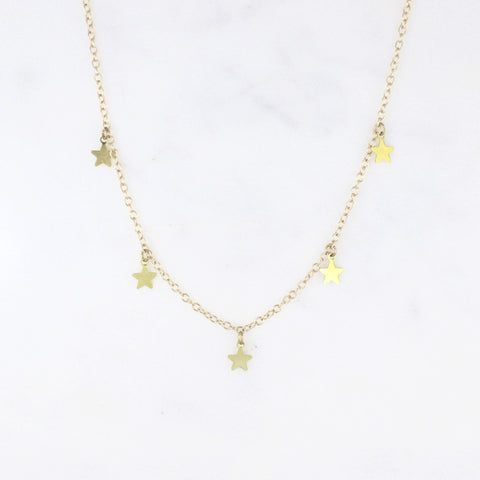 caela star necklace