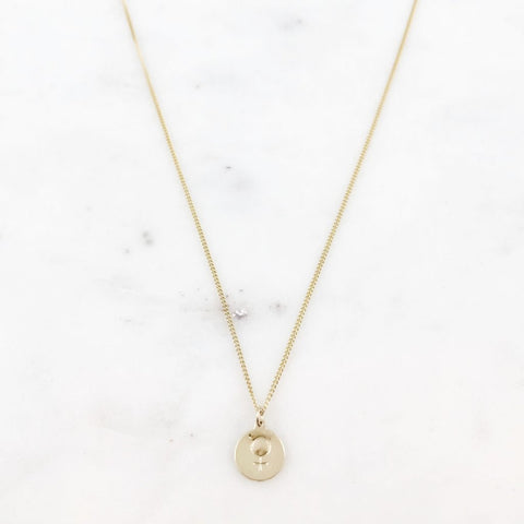 female symbol necklace