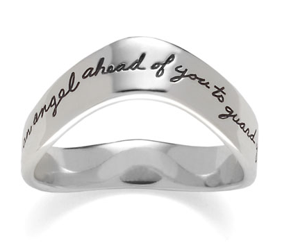Guardian Angel Mountain Ring