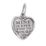Ever Tied Heart Charm