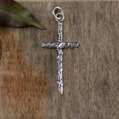 Vine Cross Pendant