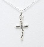 Branch Cross Necklace