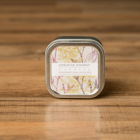 Rosemary and Lavendar Travel Tin Candle 3.5 oz.