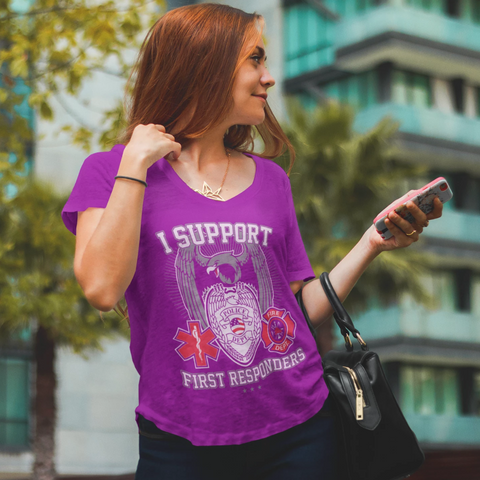 I Support First Responders - Ladies
