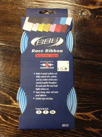 BBB Light Blue Race Ribbon Bar Tape BHT-01