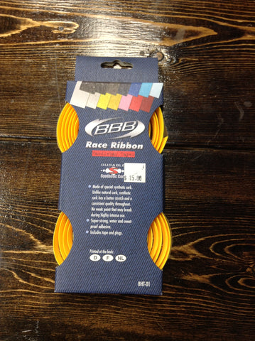BBB Yellow Race Ribbon Bar Tape BHT-01