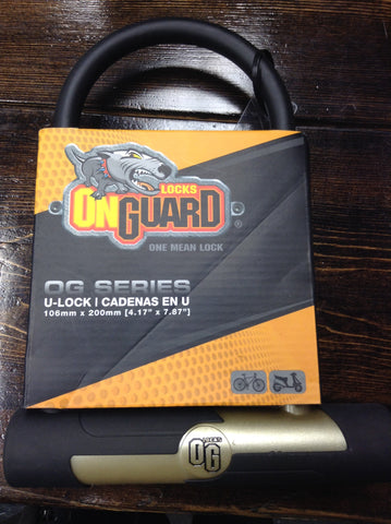 On Guard U-Lock Cadenas