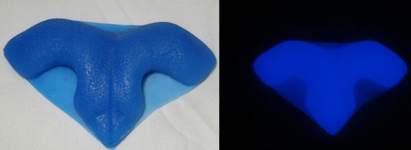 Silicone Glow in the Dark Semi-Toony Feline Nose
