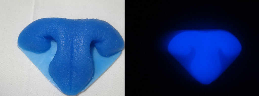 Silicone Glow in the Dark Realistic Medium Feline Nose