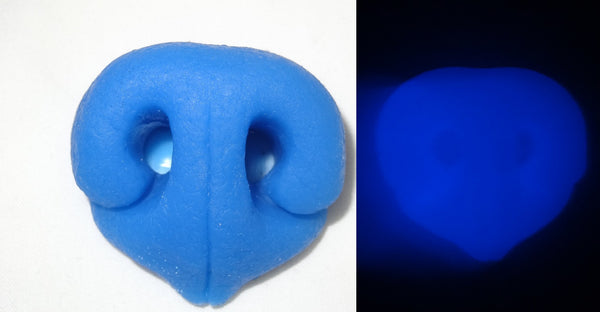 Silicone Glow in the Dark Realistic Small K9 Nose