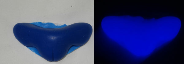 Silicone Glow in the Dark Wide Toony Feline Nose