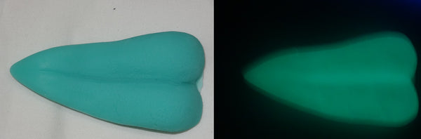 Silicone Glow in the Dark Point Dragon Tongue