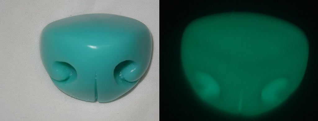 Silicone Glow in the Dark Small Toony K9 Nose