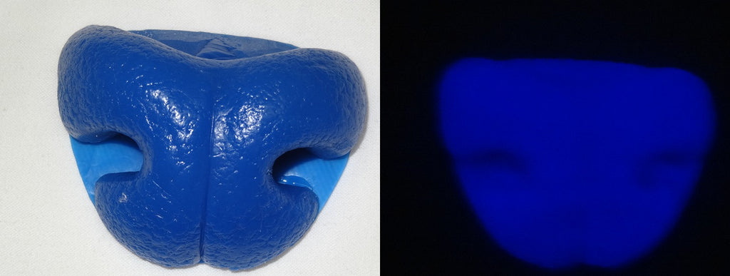 Silicone Glow in the Dark Ferret Nose