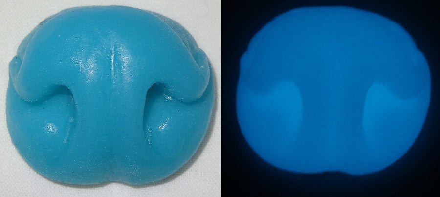 Silicone Glow in the Dark Skunk Nose